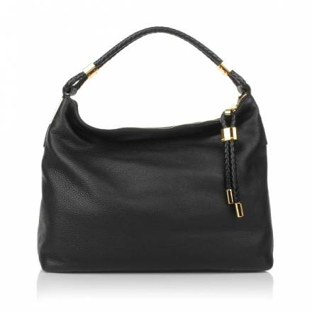 Michael Kors Michael Kors  Skorpios Top Zip Shoulder Bag Black Handtaschen