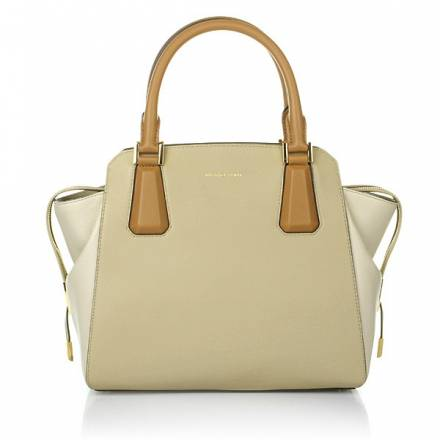 Michael Kors Miranda Color Block Shell/suntan