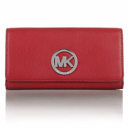 Michael Kors Fulton Wallet Carryall Scarlet