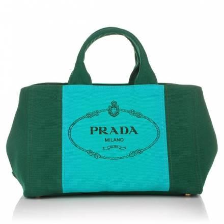 Prada Canapa Colour Shopping Bag Oleandro+pavone
