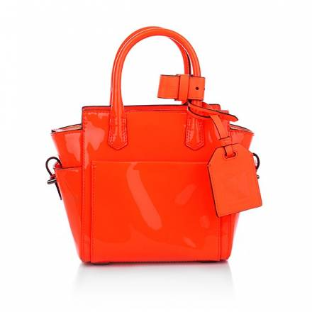 Reed Krakoff Patent Leather Neon Orange