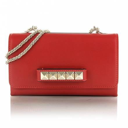 Valentino Valentino Rockstud Small Flap Red Handtaschen