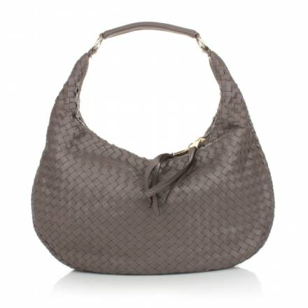 Abro Abro Woven Leather Handbag Pluma Siena Handtaschen