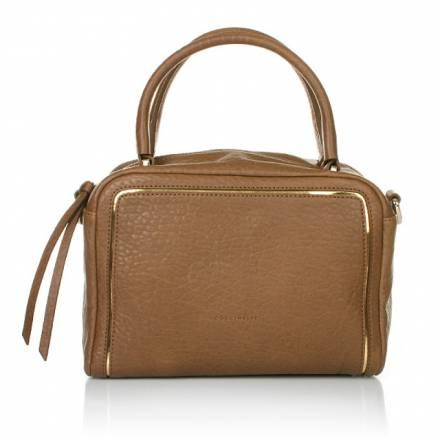 Coccinelle Coccinelle Handbag Doris Print Montone Havana/oro Handtaschen